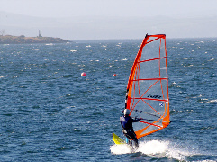 sailing, windsurfing and other watersport in largs, ayshire